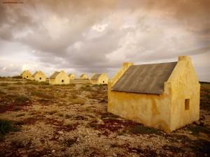 Salinas en la isla de Bonaire