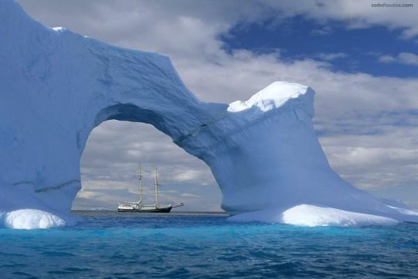 Puente de hielo