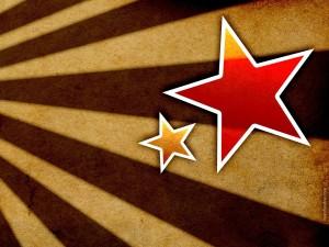 Postal: Barras y estrellas