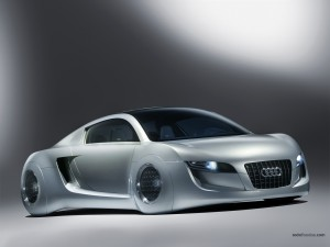 Postal: Prototipo Audi del futuro
