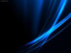 Postal: Estelas azules
