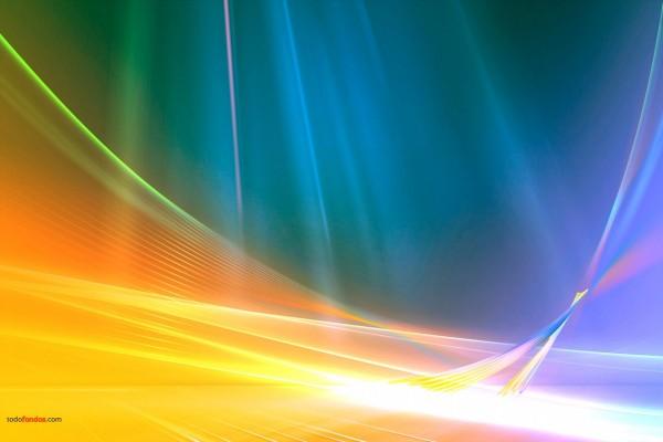 Líneas y curvas multicolores