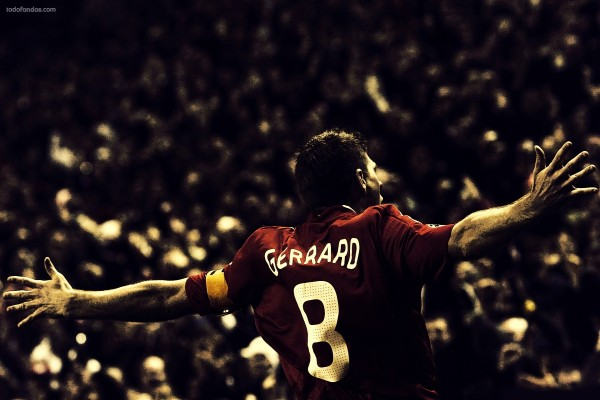 El jugador del Liverpool Steven Gerrard