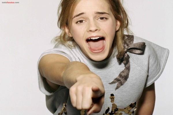 Emma Watson se ríe de ti