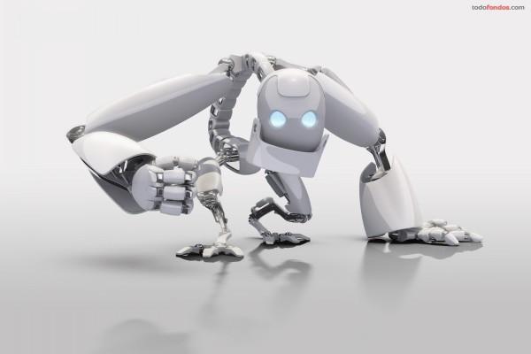 Robot blanco