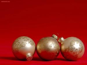 Bolas decorativas para el árbol de Navidad
