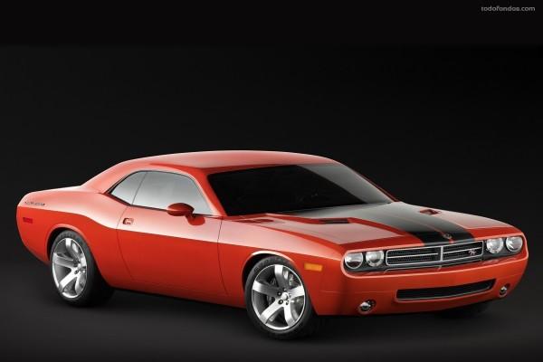 Dodge Challenger rojo