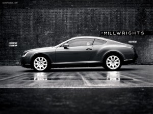 Postal: Bentley elegante