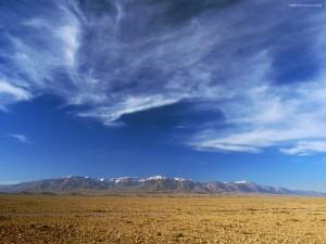 Postal: Nubes dispersas