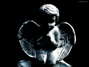 Postal: Un angelito