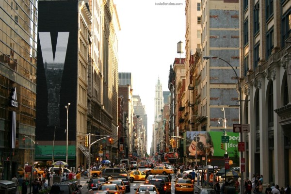 Una calle de Nueva York