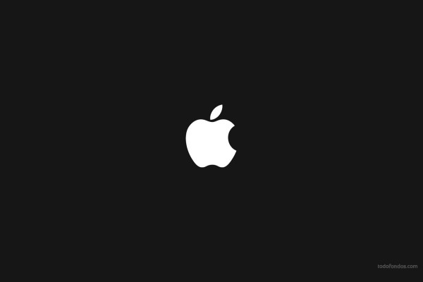 Apple en negativo