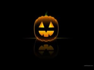 Postal: Calabaza de Halloween