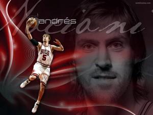 Postal: Andrés Nocioni en los Chicago Bulls