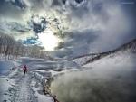 Caminata invernal