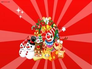 Postal: Sorpresas navideñas