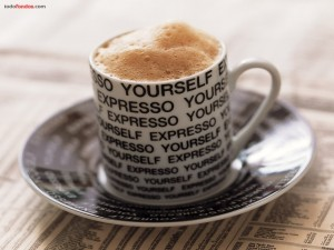Postal: Café expreso