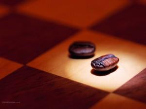 Café y ajedrez