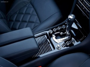 Postal: Interior de un Bentley