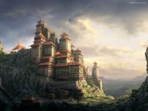 Postal: Castillo oriental