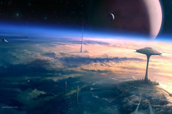Construcciones futuristas