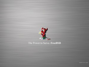 The Power to Serve. FreeBSD