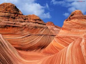 Montañas de roca erosionada