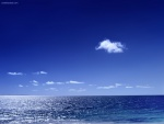 Mar y cielo azules