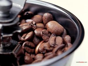 Antiguo molinillo de café