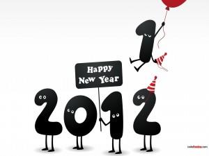 Postal: Feliz Año Nuevo 2012