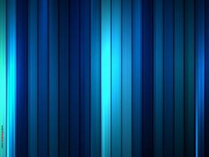 Postal: Bandas azules