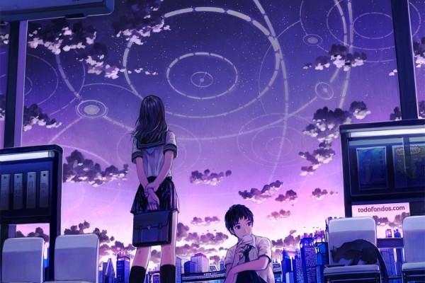 Círculos en el cielo