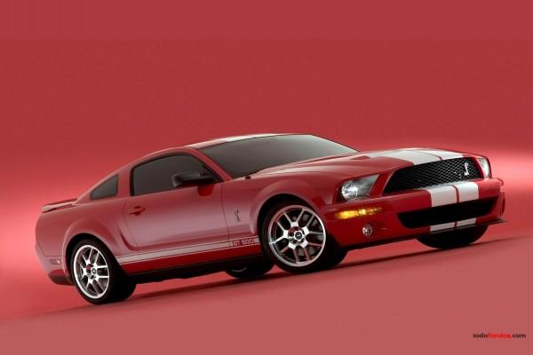 Shelby GT 500 rojo