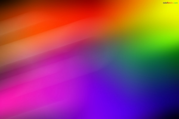Manchas arcoíris