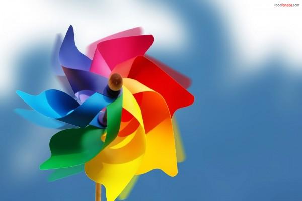 Molinillo de colores