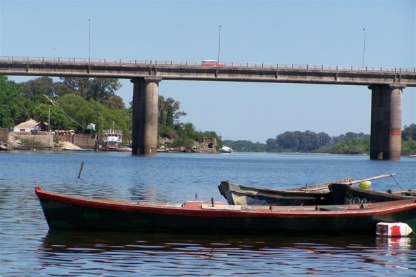 Río Negro en Mercedes, Uruguay