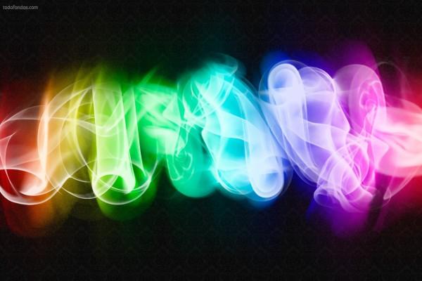 Humo multicolor