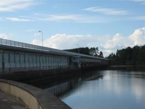 La represa de Baygorria (Uruguay)