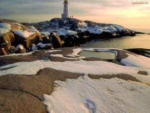 Un faro en territorio helado