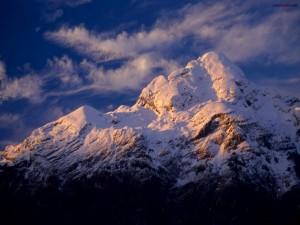 Postal: Cumbres nevadas