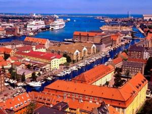 Postal: Zona costera de Dinamarca