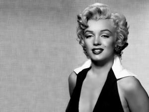 Marilyn en blanco y negro