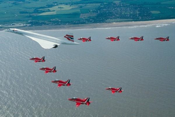 Escolta de aviones