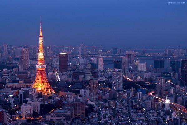 Panorama urbano de Tokio