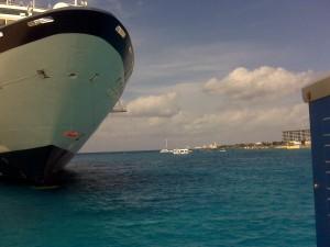 Postal: Llegando a puerto
