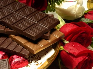 Postal: Tabletas de chocolate