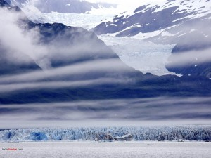 Glaciar montañoso