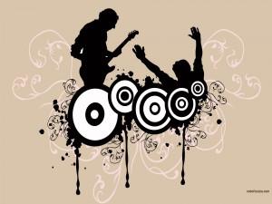 Postal: ¡Viva la música!