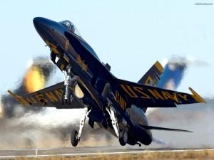 Avión de combate del ejército norteamericano