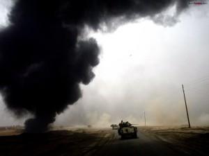 Tanques por la carretera